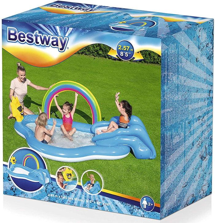 BESTWAY Water Play Center Rainbow n Shine #53092