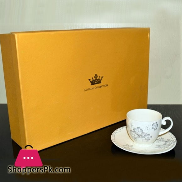 Imperial Bone China Cup and Saucer Set