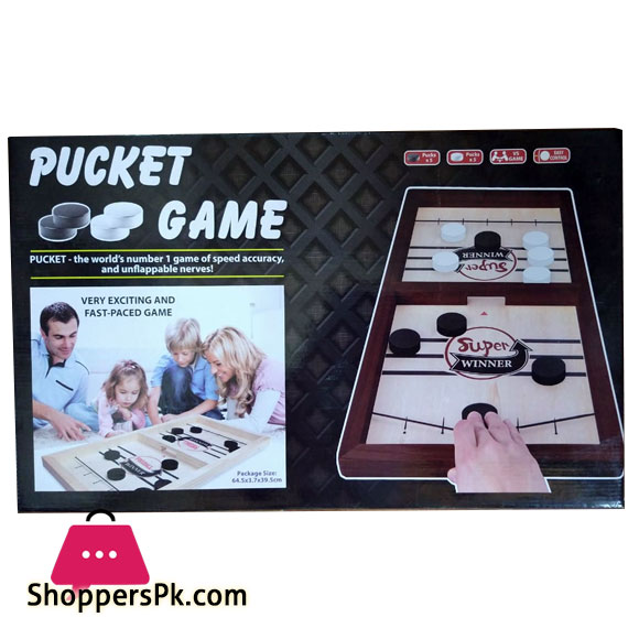 Pucket Game Wood (Medium)