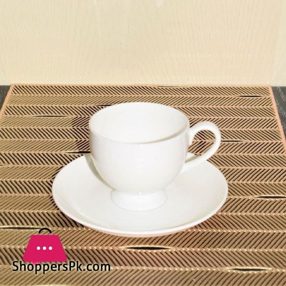 Solecasa Original Bone Cup & Saucer ( Set of 6 ) 996-4