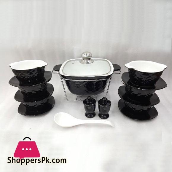 Soup Set 24 Pcs New Fine Bone China