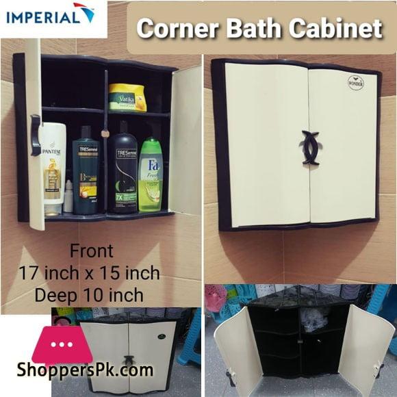 Wonder Corner Bathroom Cabinet Plastic