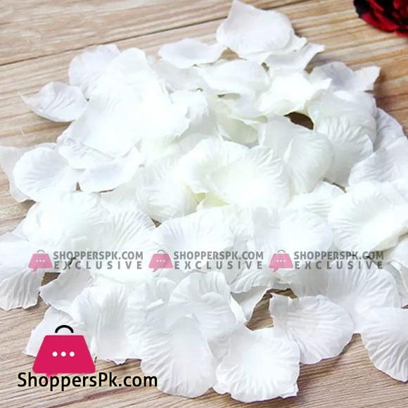 Artificial Silk Flowers Simulation Rose Petals Decorations 300 Pcs Pack
