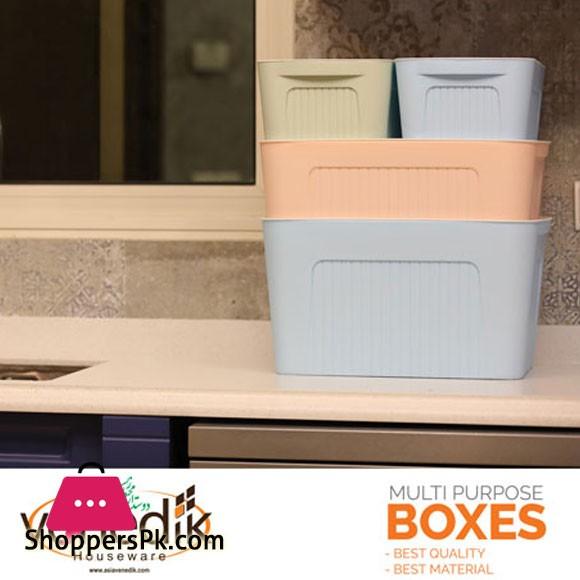 Asia Venedik Multi Purpose Box 4 Pcs Iran Made
