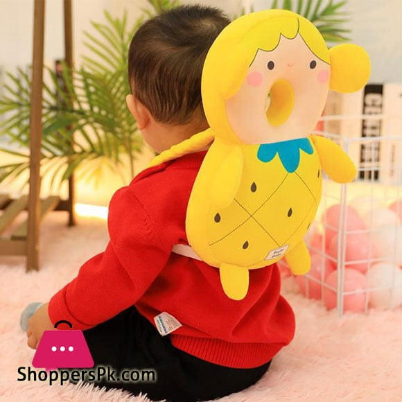 Baby Head Protection Anti Fall Baby Learn to Walk kids Toddler Head Cover Plush Knock Head Falling Pillow
