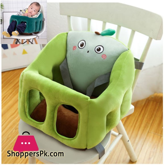 Baby Plush Boooster Seat Learn to Sit Sofa Training Chair 0-2 Year Seat