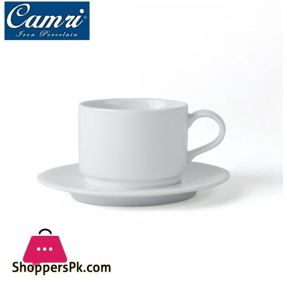 Camri Cup and Saucer Stackable 220 ML - 1 Pcs