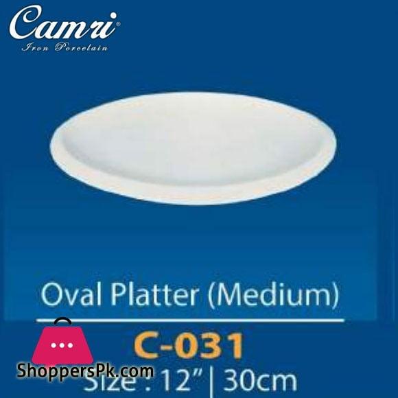 Camri Oval Platter (Medium) 12 Inch -1 Pcs