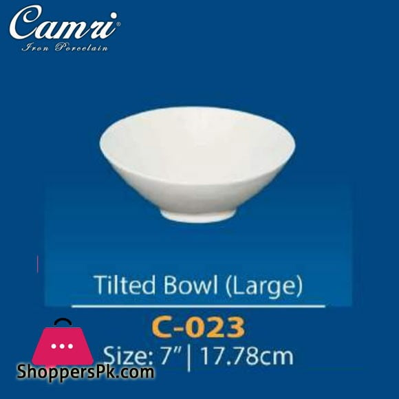 Camri Tilted Bowl (large) 7 Inch -1 Pcs