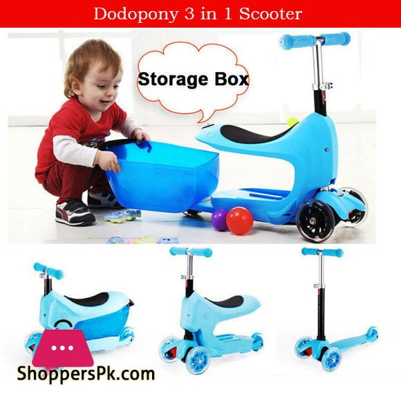 Dodopony 3 in 1 Scooter