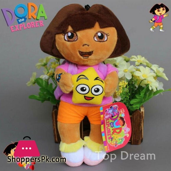 Dora The Explorer Stuffed Toy 15 Inch