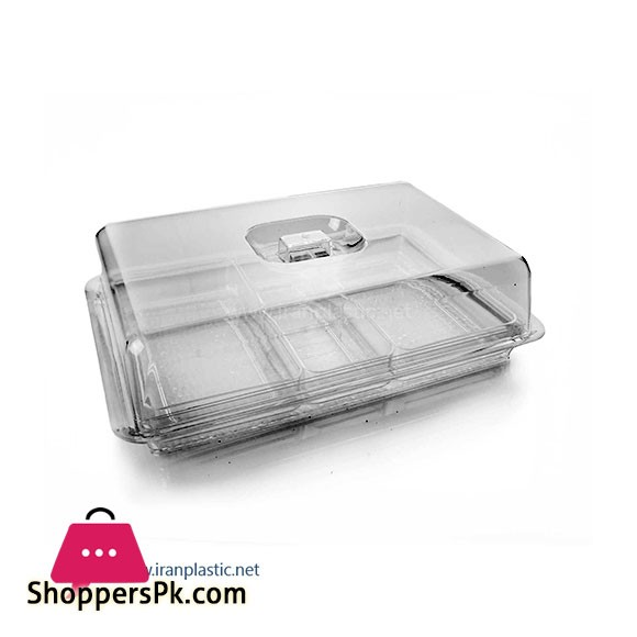 Mania Plastic Multi Purpose Acrylic Dry Fruite Camping Box