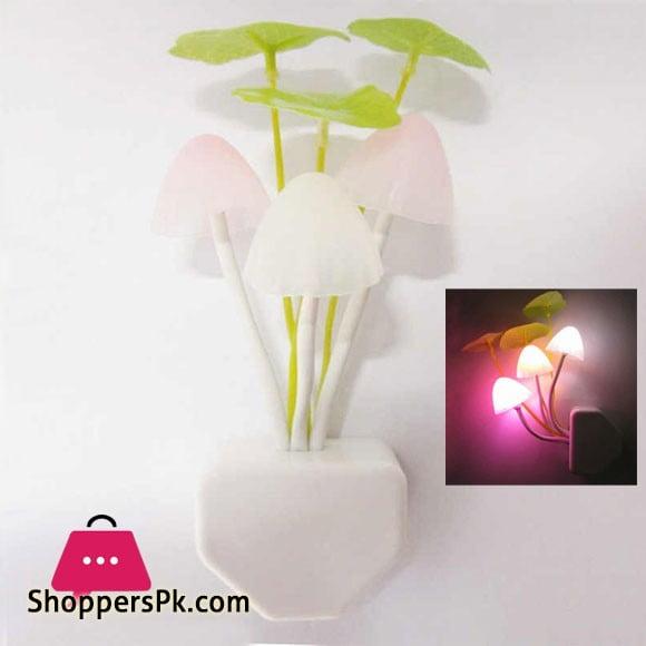 Mushroom Night Sensor Light