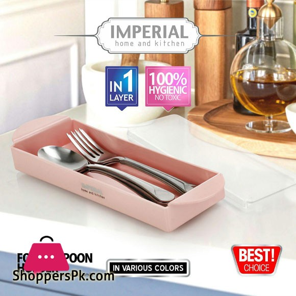 Plain Crystal Spoon Holder Iran Made
