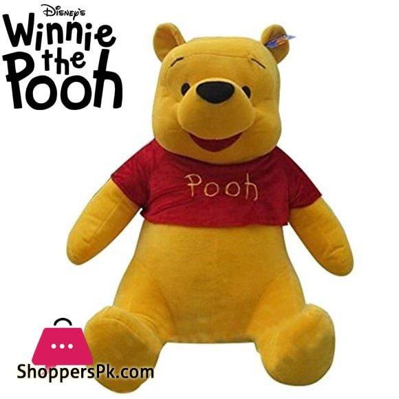 Winnie The Pooh Giant Plush Soft Stuff Toy 3 - Feet