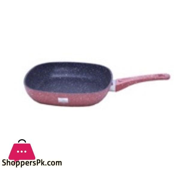 Grill Pan Pink Saflon 28 CM