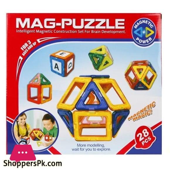 3D Super Mag Puzzle -28 Pcs