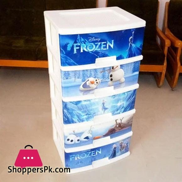 5 Layer Plastic Drawer (Frozen)
