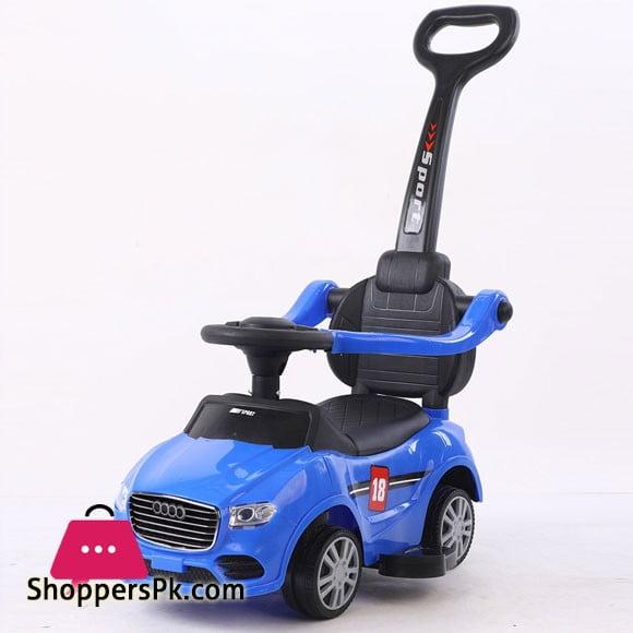 Audi 3 In 1 - Stroller/Walker Car/Riding Car (606)