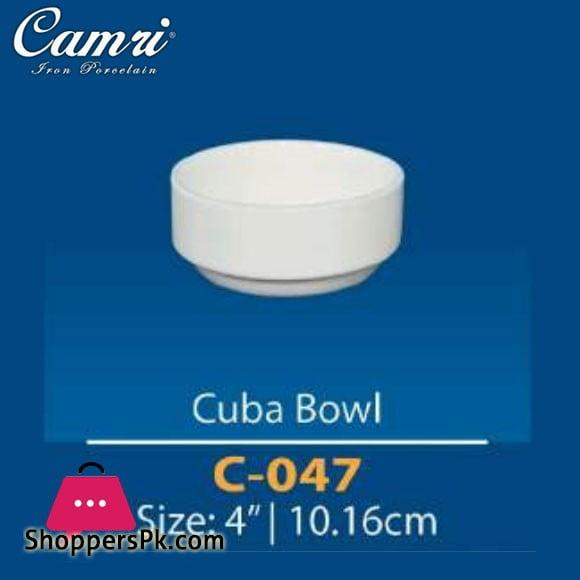 Camri Cuba Bowl 4 Inch -1 Pcs
