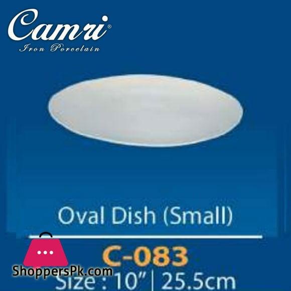 Camri Oval Dish 10 Inch -1 Pcs