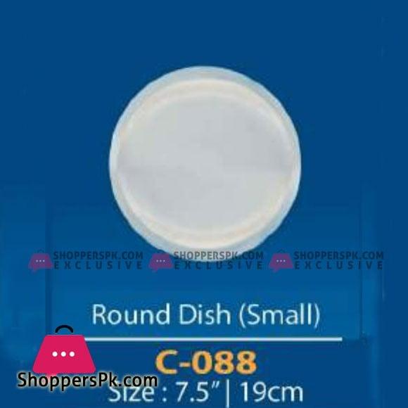 Camri Round Dish 7.5 Inch -1 Pcs