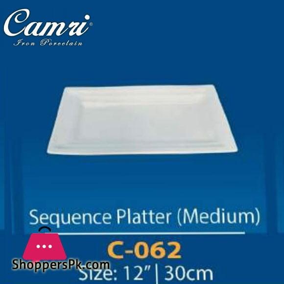 Camri Sequence Platter (Medium) 12 Inch -1 Pcs