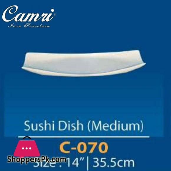 Camri Sushi Dish (Medium) 14 Inch -1 Pcs