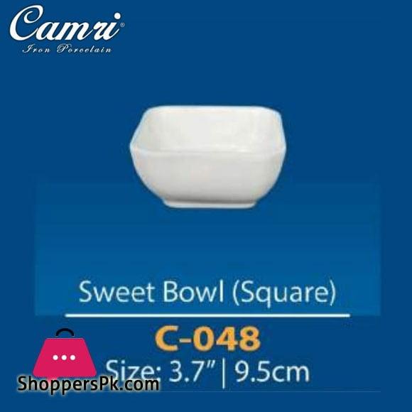 Camri Sweet Bowl (Square) 3.7 Inch -1 Pcs