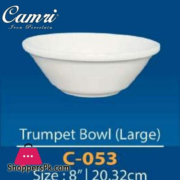 Camri Trumpet Bowl (large) 8 Inch -1 Pcs