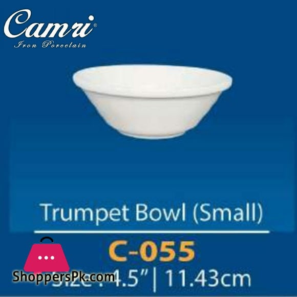 Camri Trumpet Bowl (small) 4.5 Inch -1 Pcs
