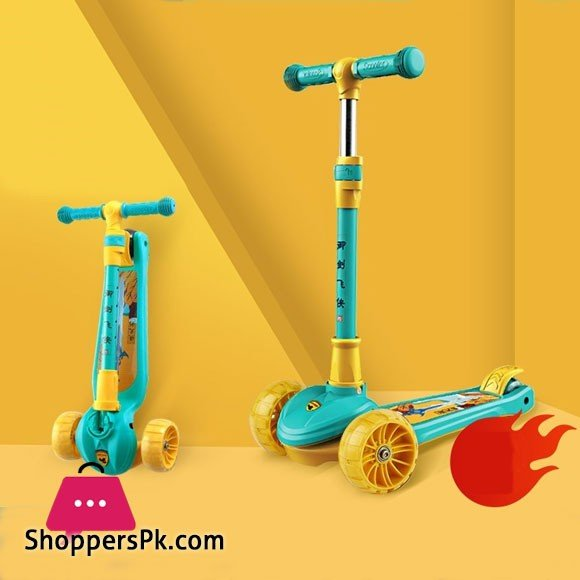 Cool Douding Kids Scooters Years Kids Single Foot Pedal 2-8 Years