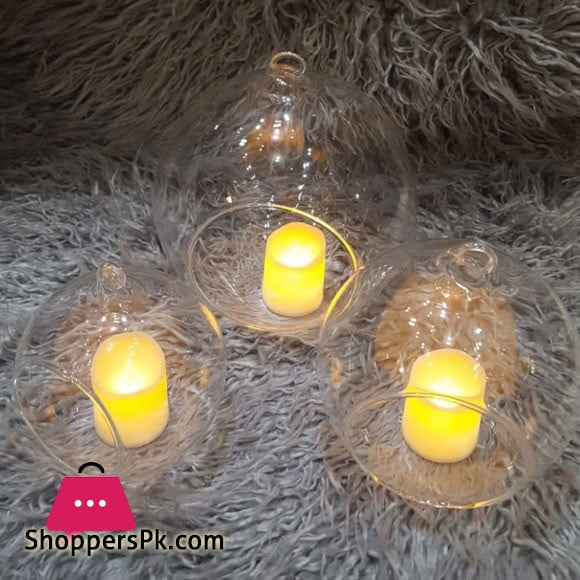 Glass Ball Holders with Llights or Home Decor