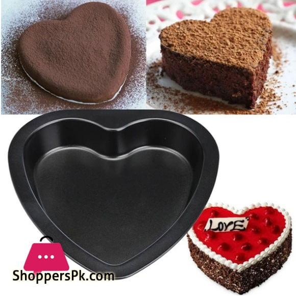 Heart Shape Baking Cake Pan Non Stick