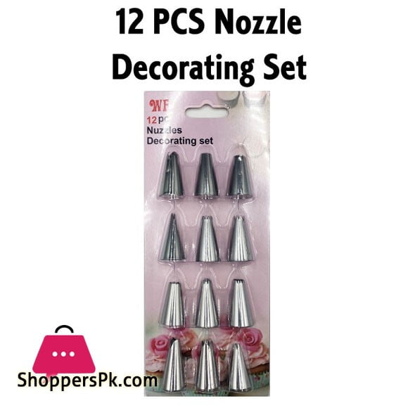 Icing Nozzles Decorating Set 12 Pcs