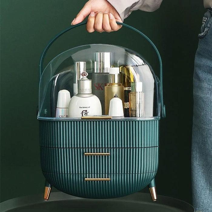 Large Waterproof Cosmetic Toiletry Storage Box