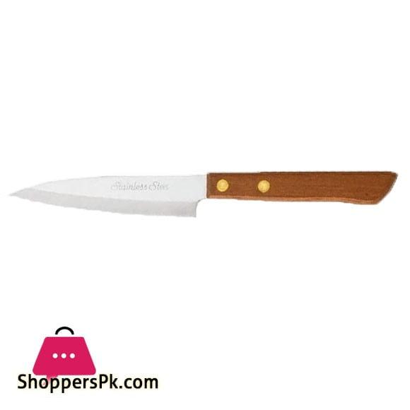 """Pirge Atlantik Meat Knife 6"""" Wood Handle 31011"""