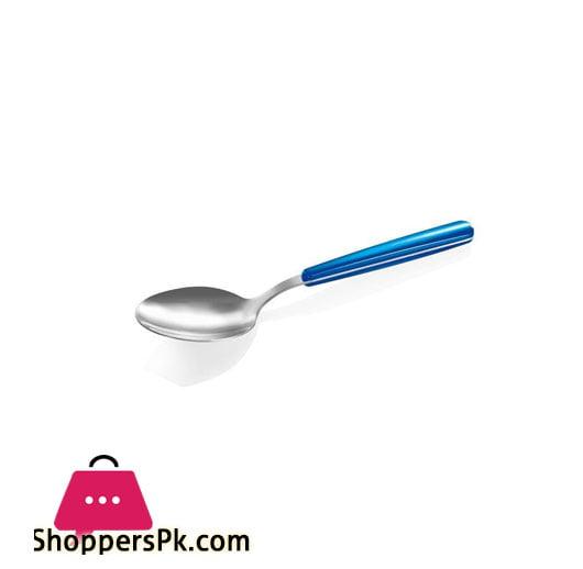 Soup Spoon Blue Fancy Home