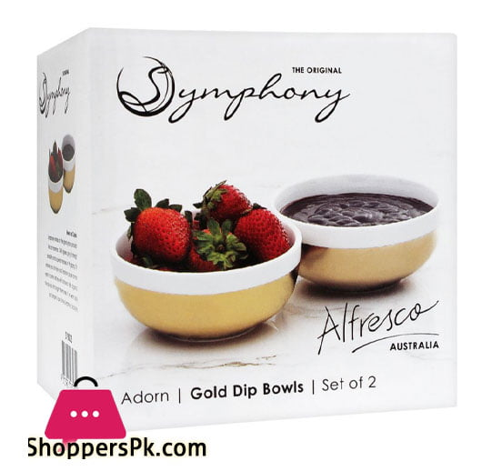 Symphny Adorn Dip Bowls Set