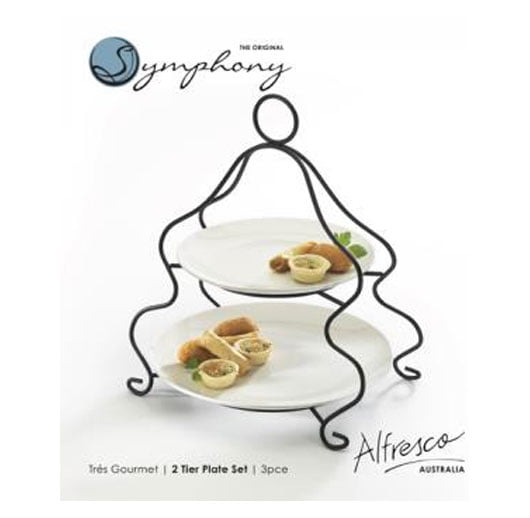 Symphony 2 Tiers Gourmet Pastry Set SYE2005