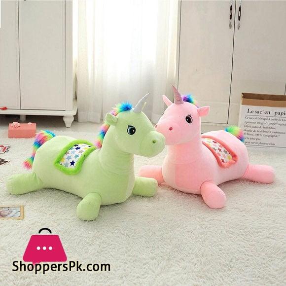 Unicorn Plush Toy Children Sofa Baby Seat (061)