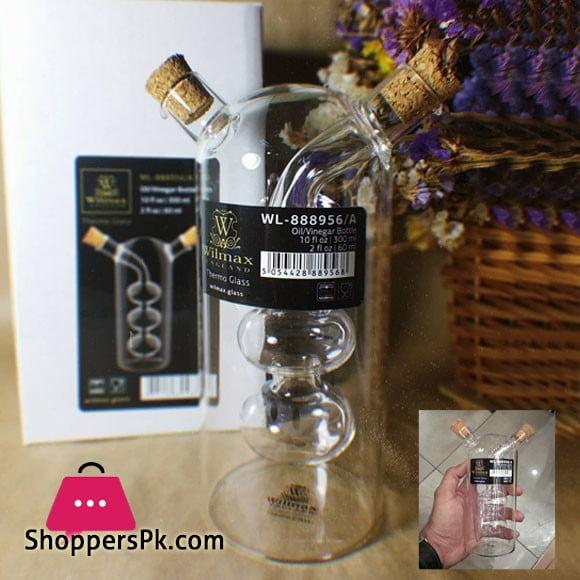 Wilmax 2 in 1 Oil Vinegar Bottle WL‑888956