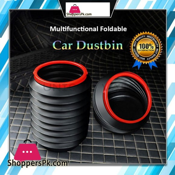 Foldable Dustbin (4Litre) Car & Home Trash Can
