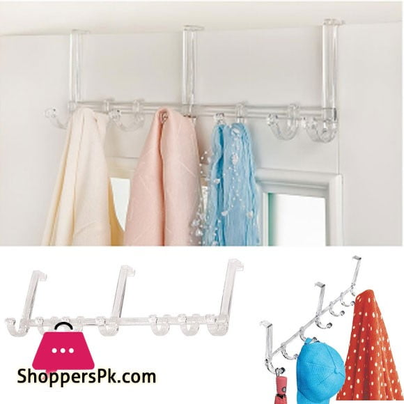 High Quality Acrylic Over the Door Cloth Hanger