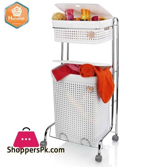 Homeket Maya Bath Laundry Basket