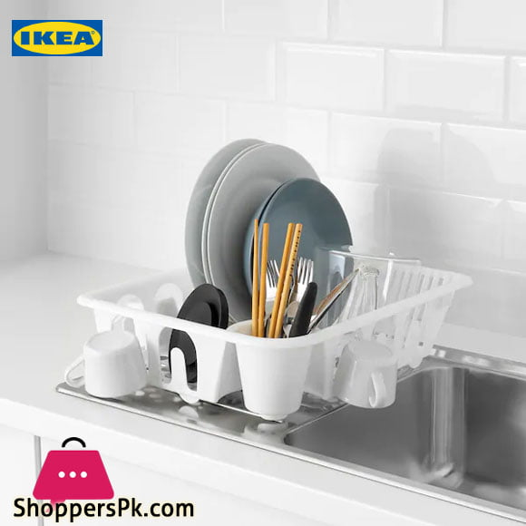 Ikea FLUNDRA Dish Drainer White