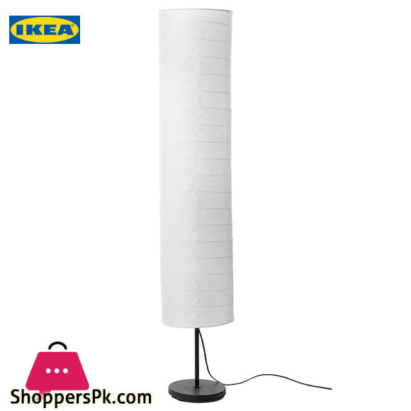 Ikea HOLMO Floor Lamp White
