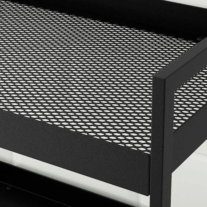 Ikea NISSAFORS Trolley - Steel Powder Coating
