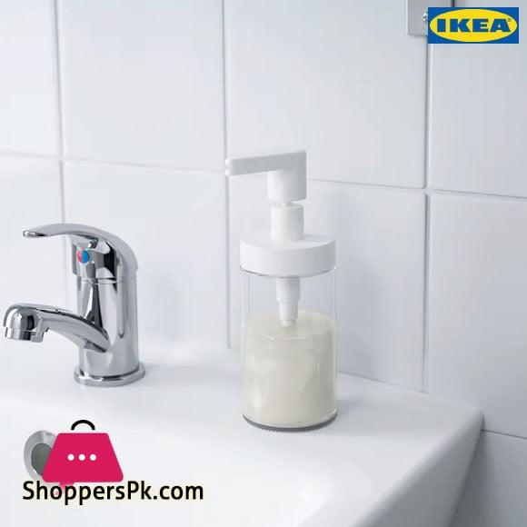 Ikea TACKAN Soap Dispenser White