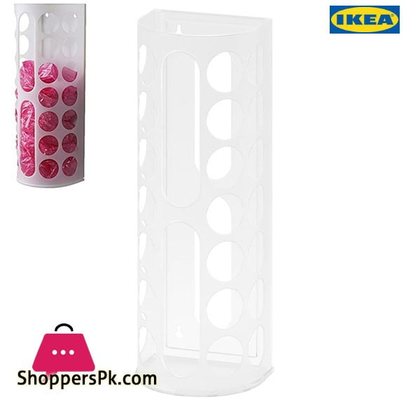 Ikea VARIERA Plastic Bag Dispenser White